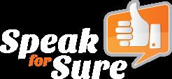 Speak For Sure - Logo